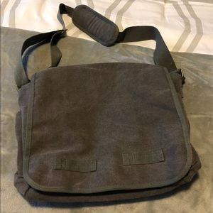 Men's Computer Bag NWOTS Charcoal Gray